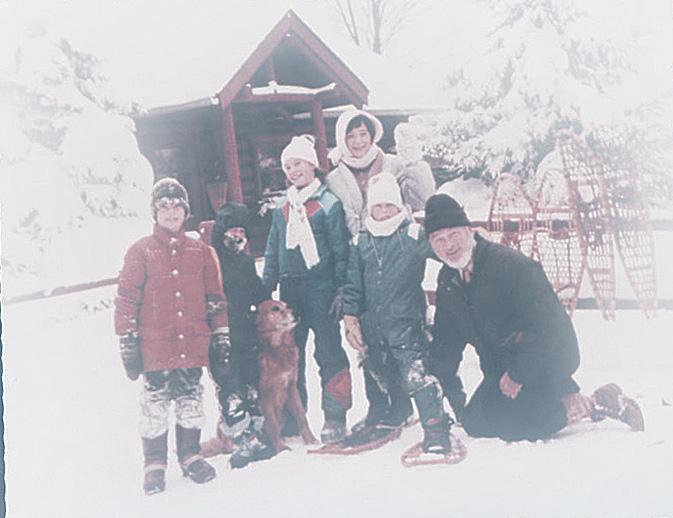 grandpahoward_snowcabin